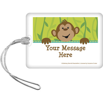 Monkeying Around Personalized Bag Tag (Each)