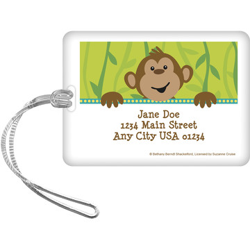 Monkeying Around Personalized Luggage Tag (Each)