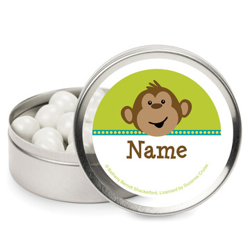 Monkeying Around Personalized Mint Tins (12 Pack)