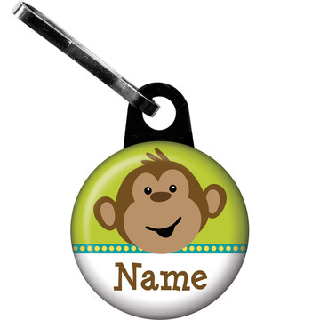 Monkeying Around Personalized Zipper Pull (Each)