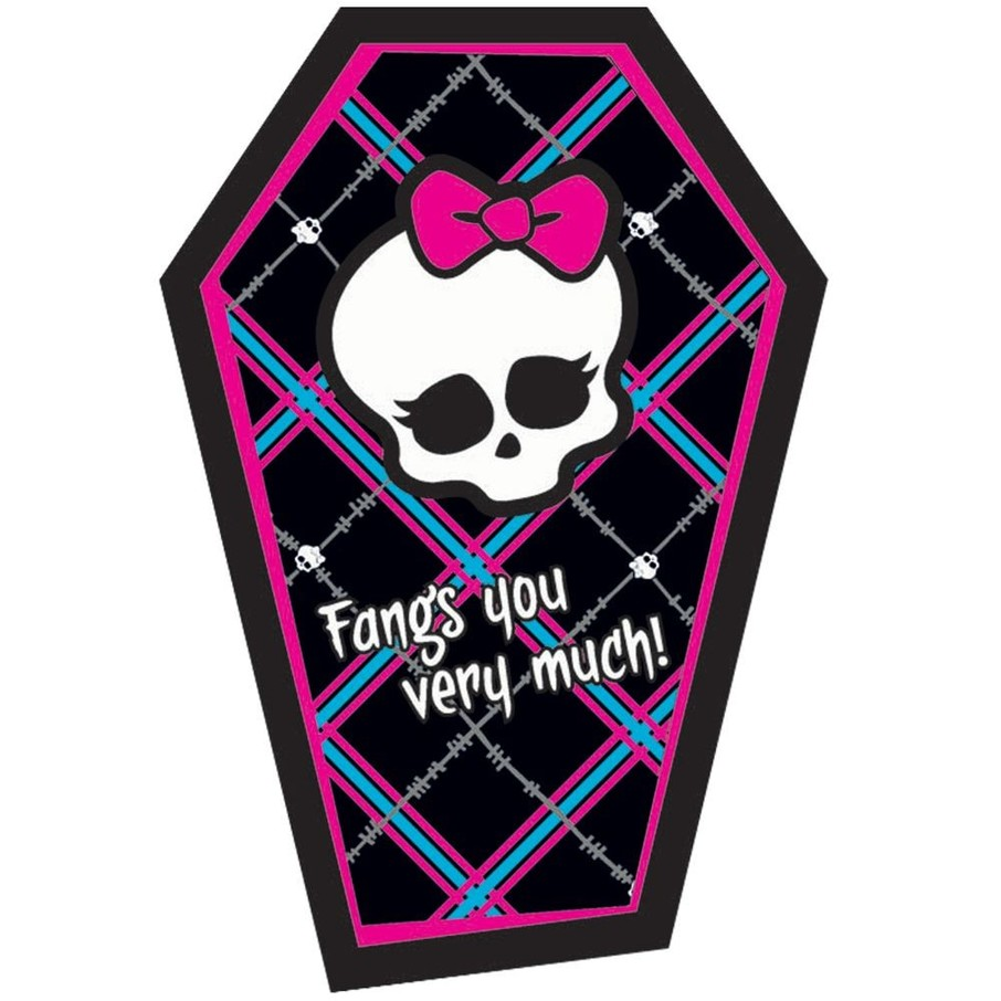 View larger image of Monster High Thank You Notes