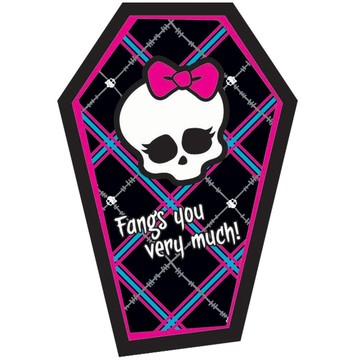 Monster High Thank You Notes