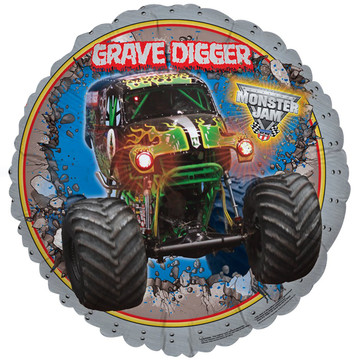 Monster Jam 3D Foil Balloon