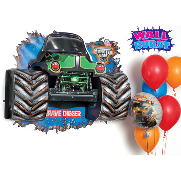 Monster Jam 3D - Wall Burst