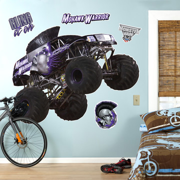Monster Jam Mohawk Warrior Giant Wall Decal