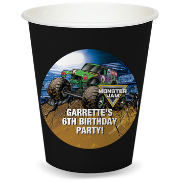 Monster Jam Personalized Cups (8)