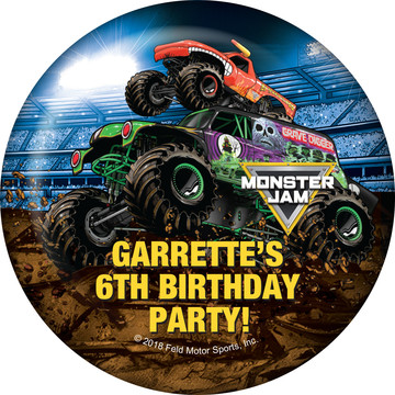 Monster Jam Personalized Magnet (Each)