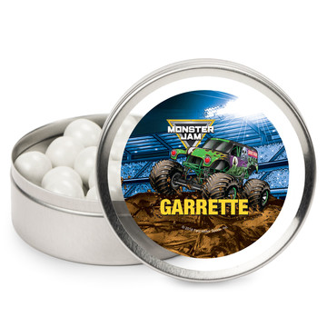 Monster Jam Personalized Mint Tins (12 Pack)