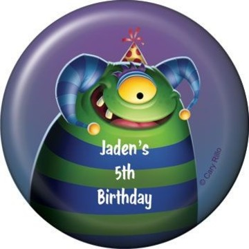 Monster Party Personalized Magnet (each)