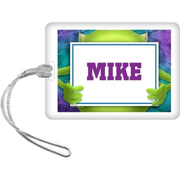 Monster Personalized Bag Tag (Each)