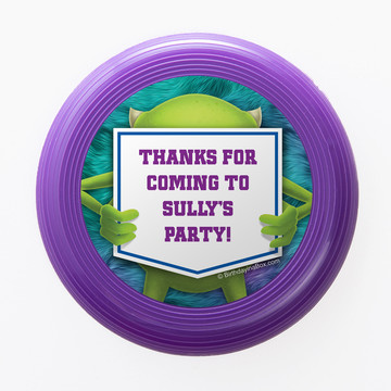Monster Personalized Mini Discs (Set Of 12)