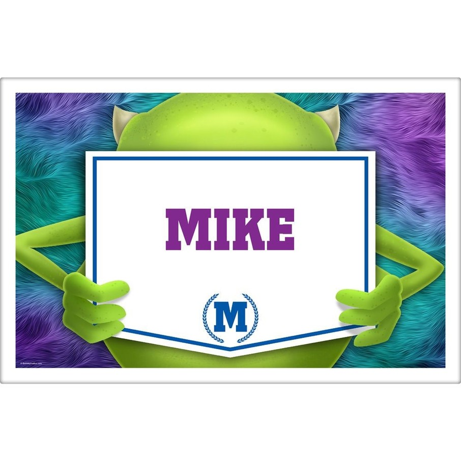 View larger image of Monster Personalized Placemat (Each)