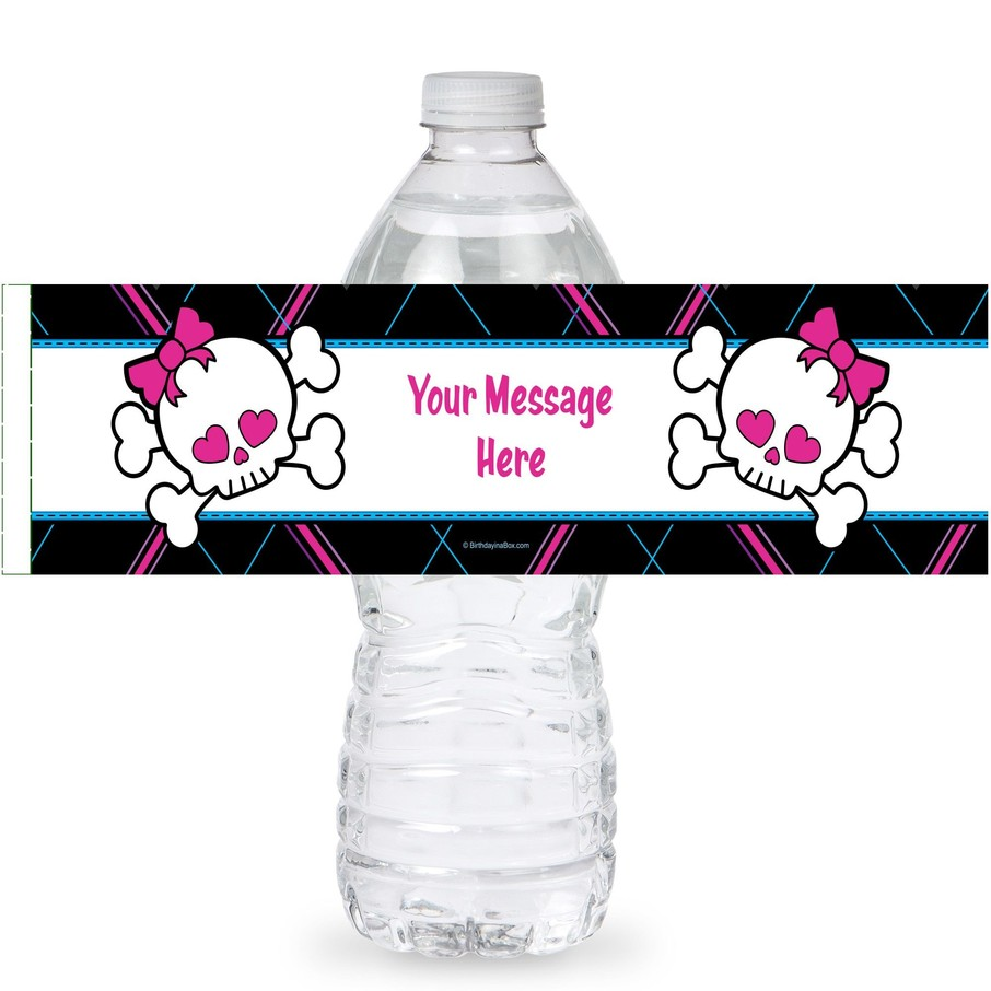 View larger image of Monster School Personalized Bottle Labels (Sheet of 4)