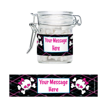 Monster School Personalized Swing Top Apothecary Jars (12 ct)