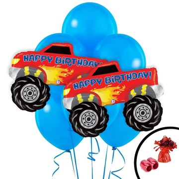 Monster Truck Jumbo Balloon Bouquet