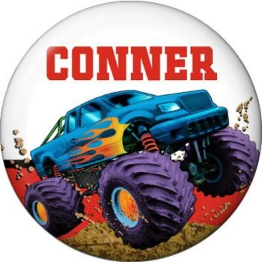View larger image of Monster Truck Personalized Mini Magnet (each)