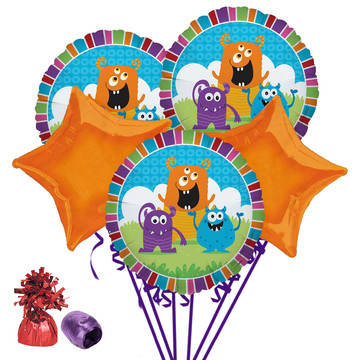 Monsters Balloon Bouquet Kit