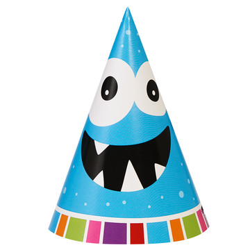 Monsters Cone Hats (8)