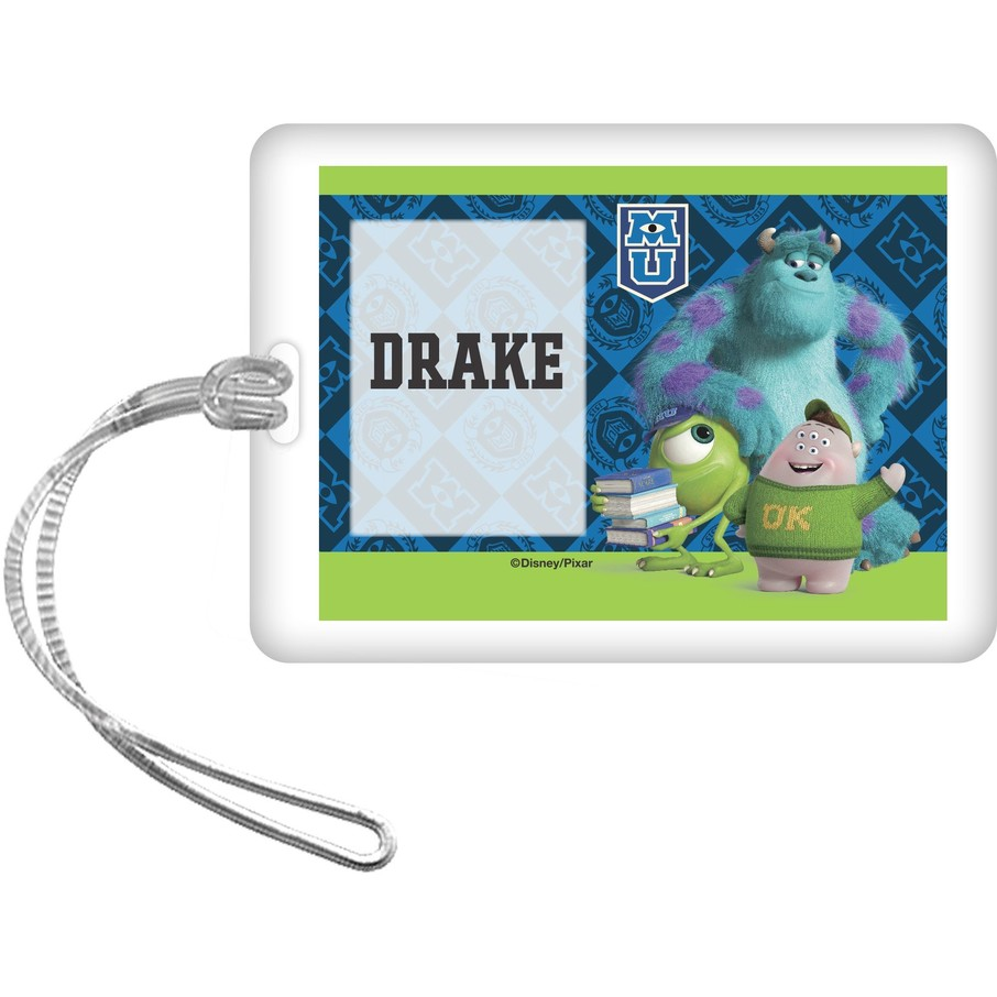 View larger image of Monsters Personalized Bag Tag (Each)