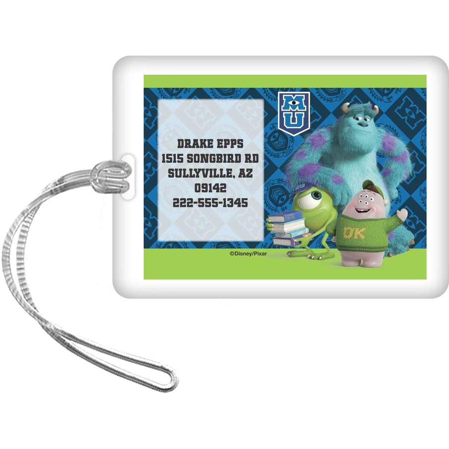 View larger image of Monsters Personalized Luggage Tag (Each)