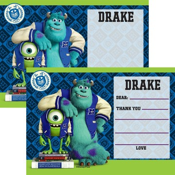 Monsters Personalized Thank You (Each)