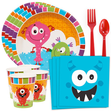 Monsters Standard Tableware Kit (Serves 8)