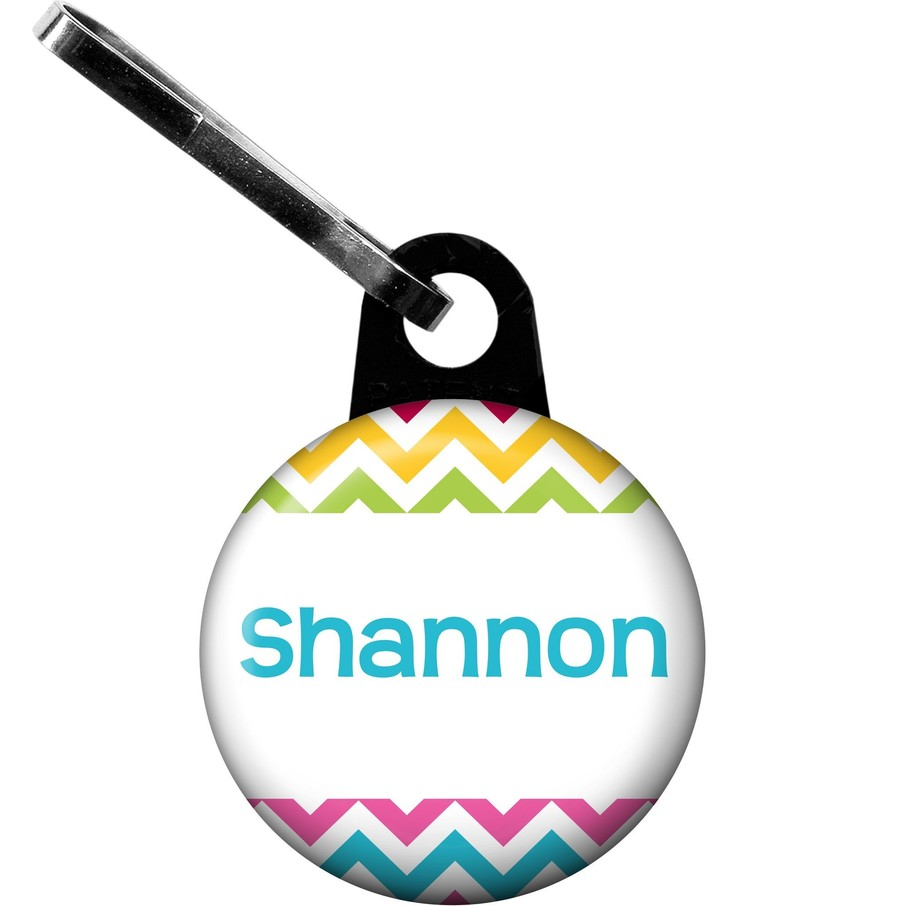 View larger image of Multi Chevron Personalized Zipper Pull (Each)
