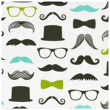 Mustache Man Lunch Napkins (20)