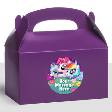 My Little Party Pony Personalized Treat Favor Boxes (12 Count)