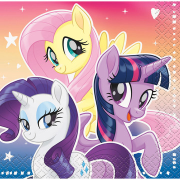 My Little Pony Flying Ponies Beverage Napkin (16 Count)