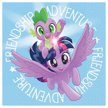 My Little Pony Friendship Adventures Beverage Napkins, 16ct