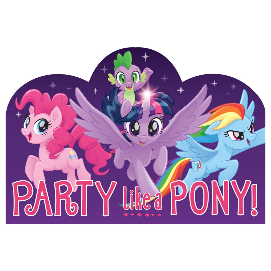 View larger image of My Little Pony Friendship Adventures Postcard Invite, 8ct