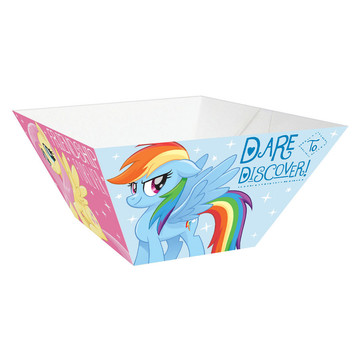 My Little Pony Friendship Adventures Small Paper Snack Bowls, 3ct