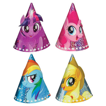 My Little Pony Friendship Adventures Party Hat, 8ct