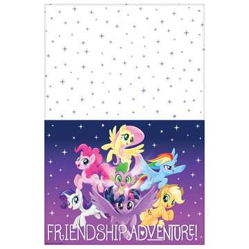 My Little Pony Friendship Adventures Plastic Tablecover