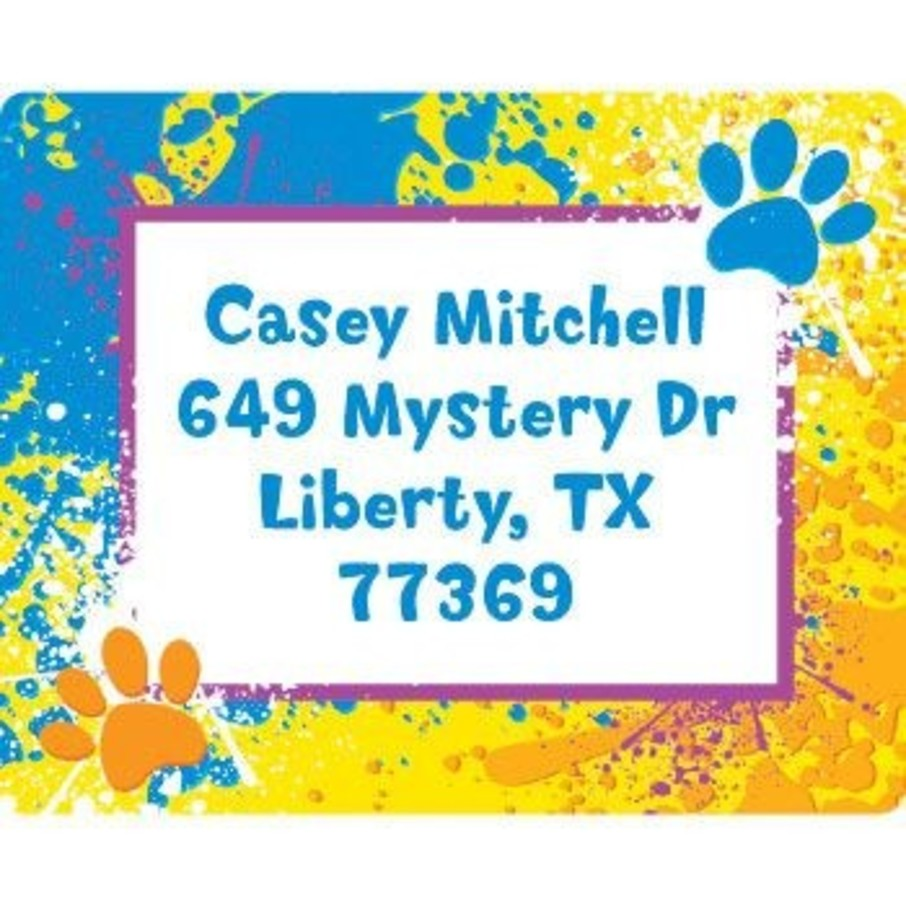 View larger image of Mystery Dog Personalized Address Labels (sheet of 15)
