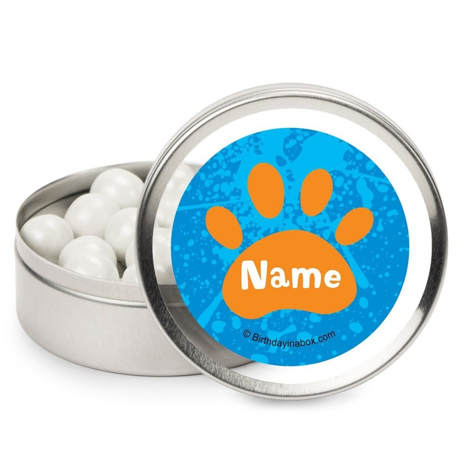 View larger image of Mystery Dog Personalized Candy Tins (12 Pack)