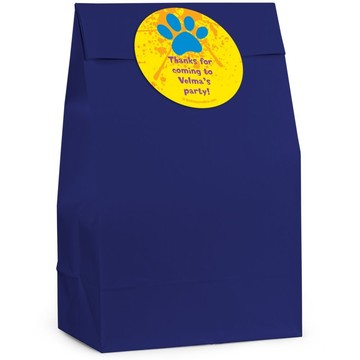 Mystery Dog Personalized Favor Bag (Set Of 12)