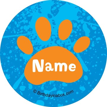 Mystery Dog Personalized Mini Stickers (Sheet of 24)