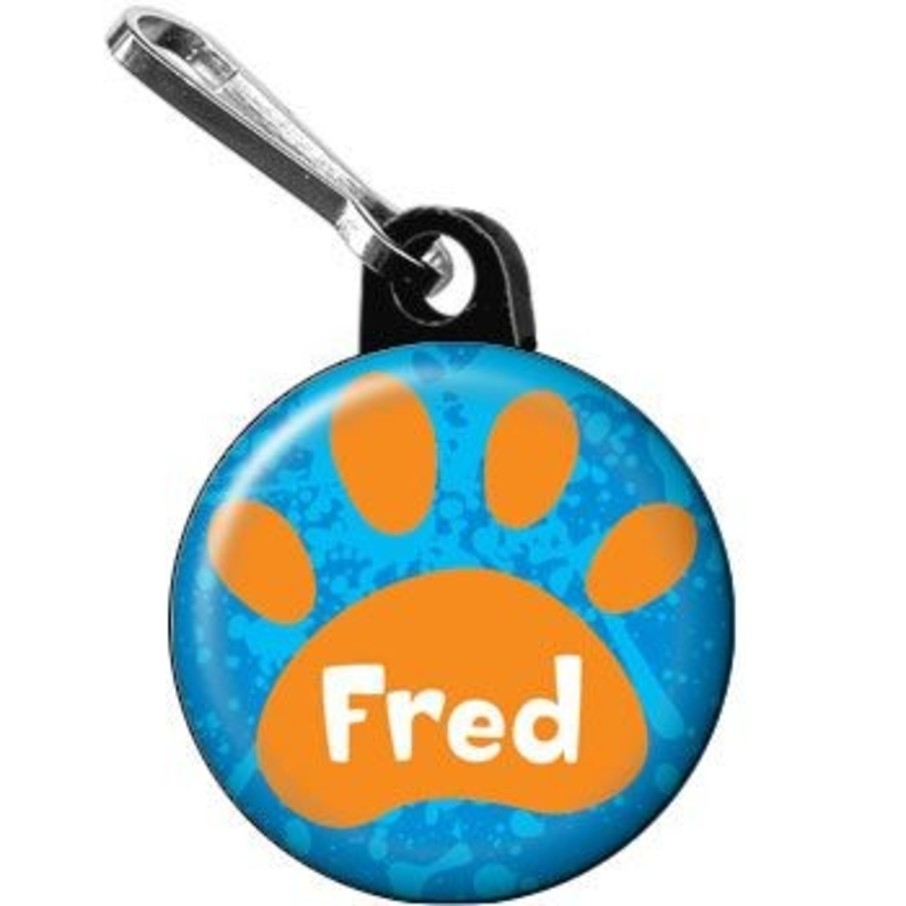 View larger image of Mystery Dog Personalized Mini Zipper Pull (each)