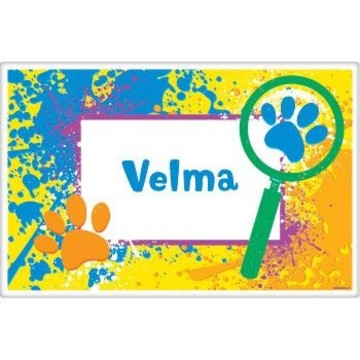 Mystery Dog Personalized Placemat (each)