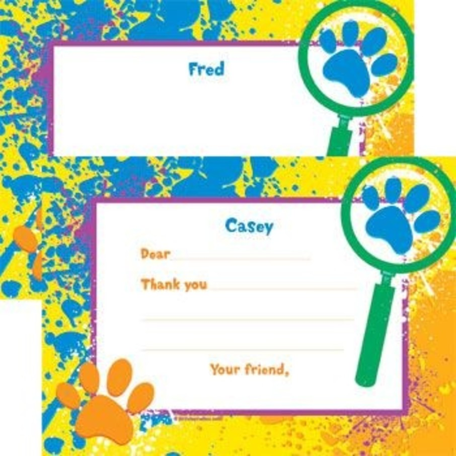 View larger image of Mystery Dog Personalized Thank You Note (each)
