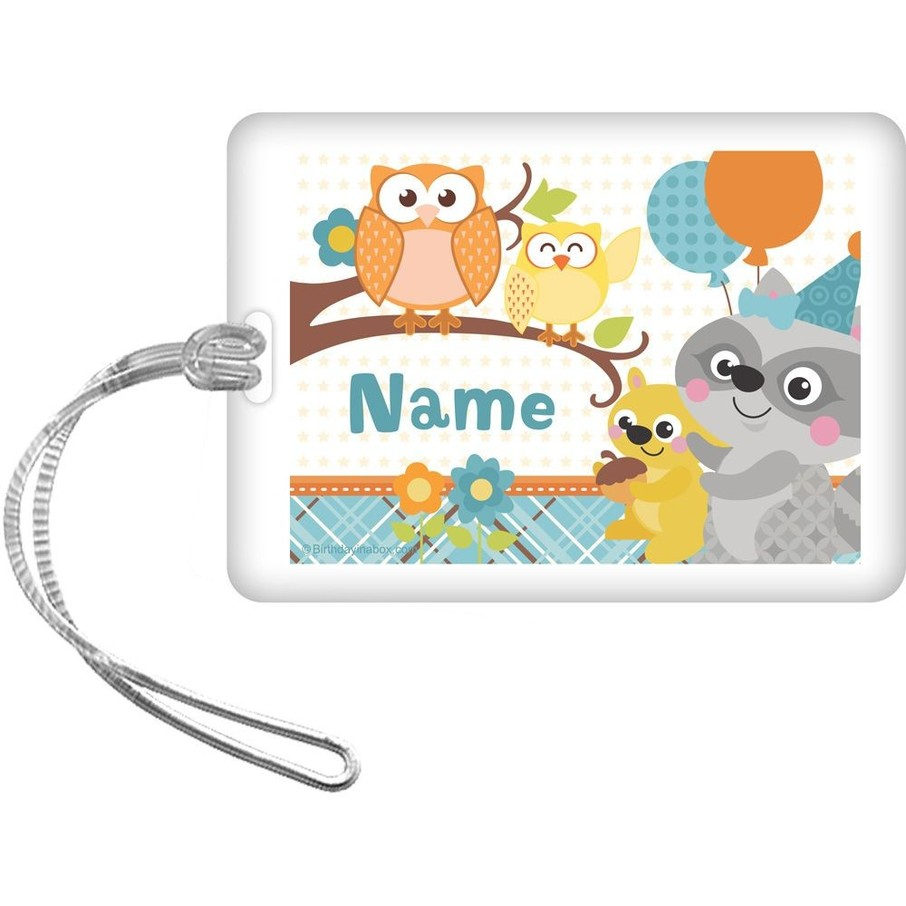 View larger image of Nature Blue Personalized Bag Tag (Each)