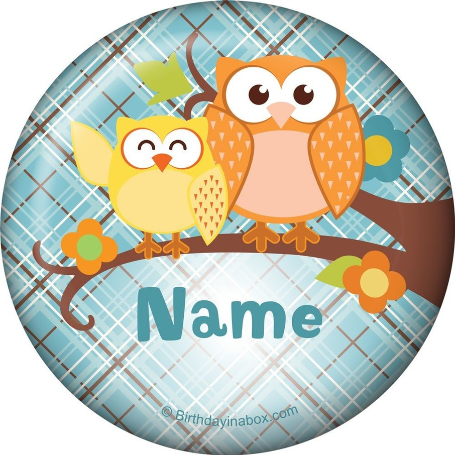 View larger image of Nature Blue Personalized Magnet (Each)