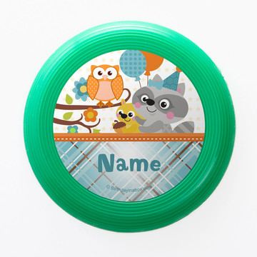 Nature Blue Personalized Mini Discs (Set of 12)