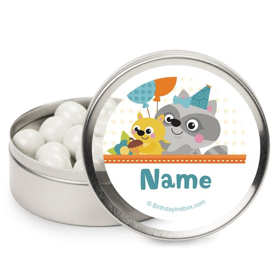 View larger image of Nature Blue Personalized Mint Tins (12 Pack)