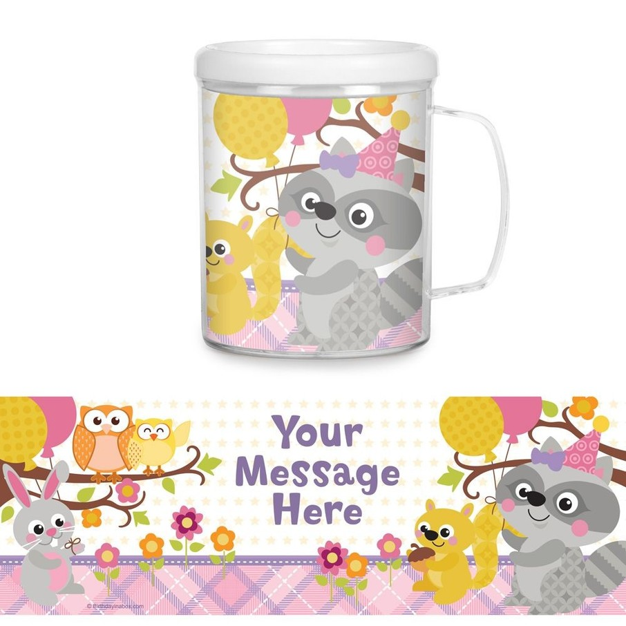 View larger image of Nature Pink Personalized Favor Mug (Each)