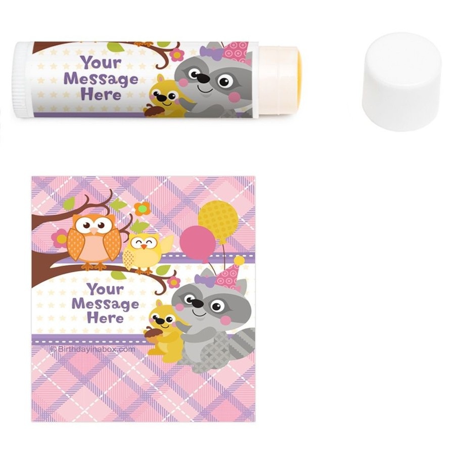 View larger image of Nature Pink Personalized Lip Balm (12 Pack)