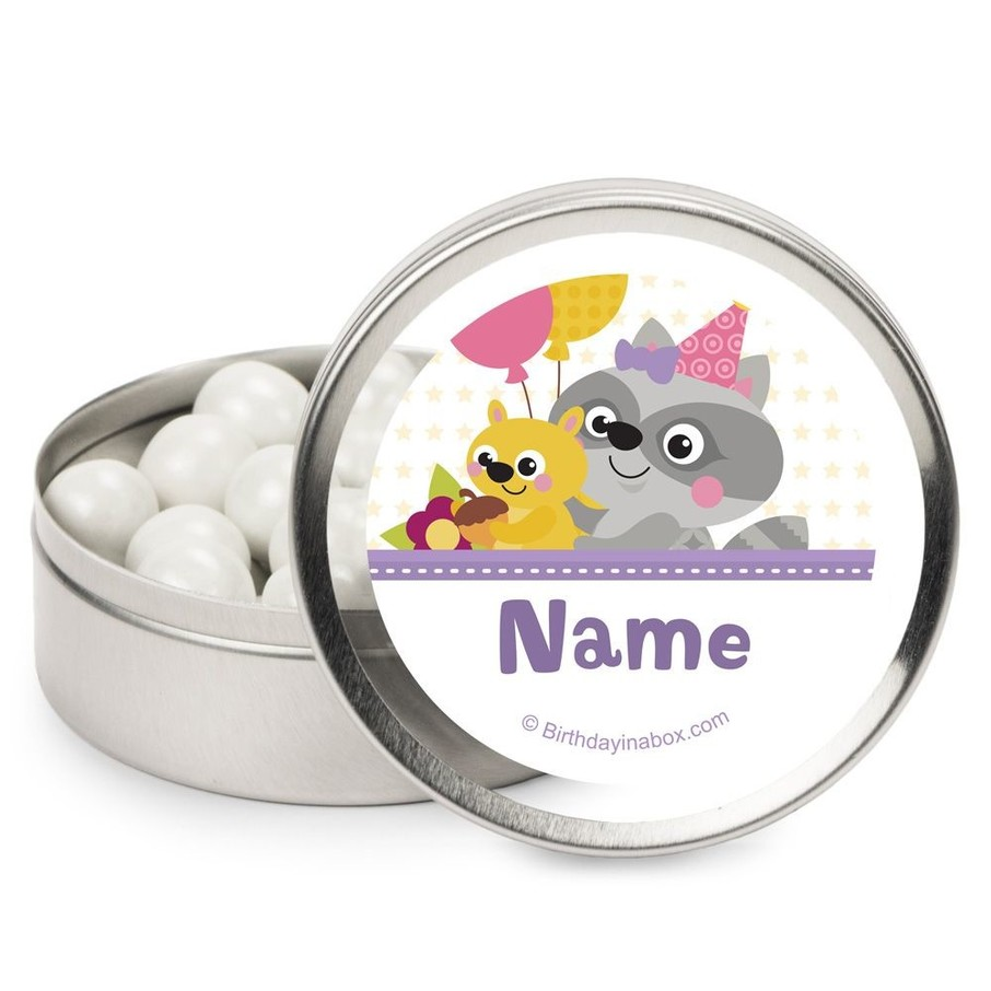 View larger image of Nature Pink Personalized Mint Tins (12 Pack)