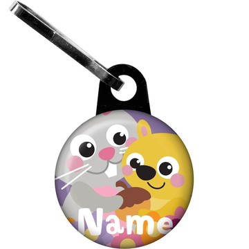 Nature Pink Personalized Zipper Pull (Each)